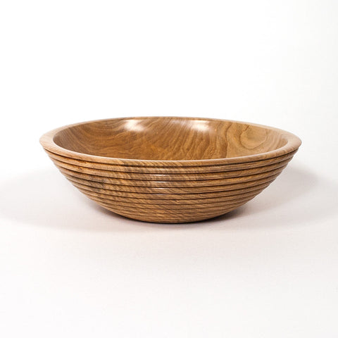 7 1/8 Inch Beaded Wooden Curly Maple Bowl - Dailey Woodworking