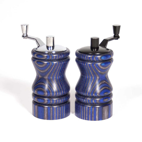 Set of blue and black Ferris mini-grinders - Dailey Woodworking
