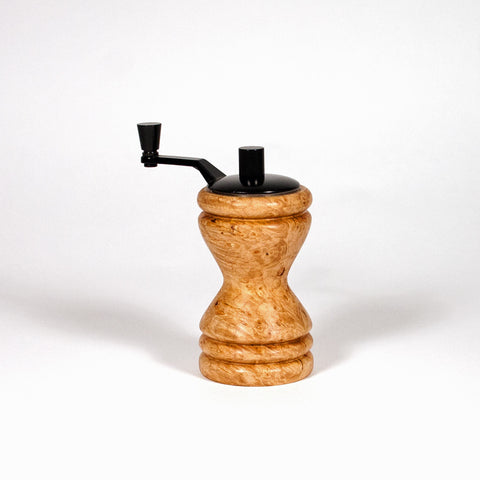 Ferris Maple Burl mini-grinder black top
