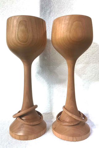 Wedding Goblet Set, Cherry