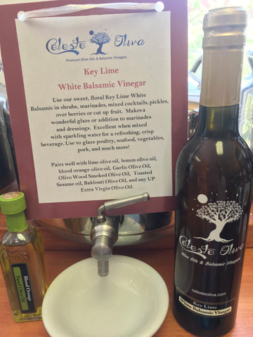 Key Lime White Balsamic Vinegar