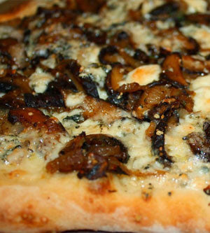 Cremini, Blue Cheese, & Wild Mushroom & Sage Olive Oil Flat Bread