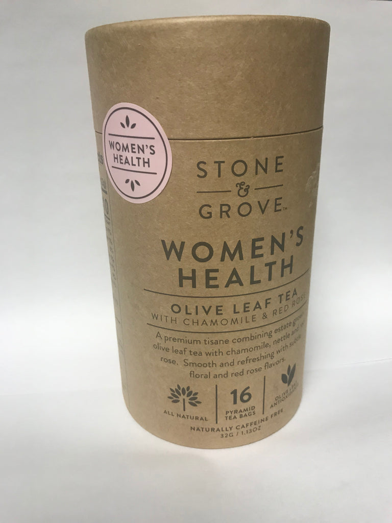 Women's Health Olive Leaf Tea (STONE & GROVE)