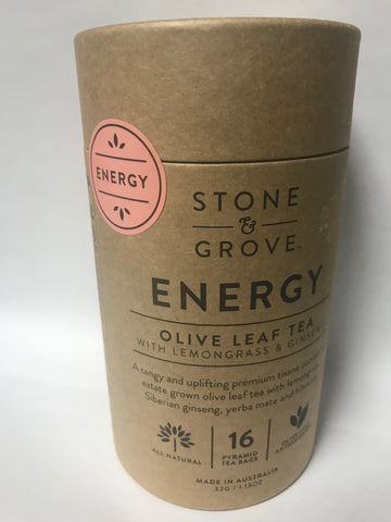 Energy Olive Leaf Tea  (STONE & GROVE)