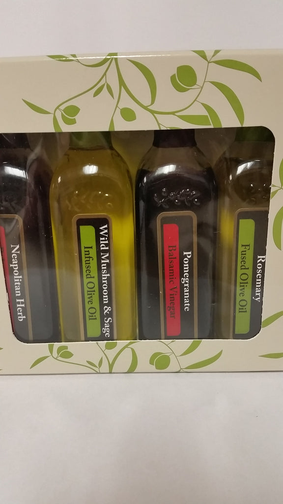 """Savory Delight"" Four Bottle Sampler Pack (Bottles 60 ml)"