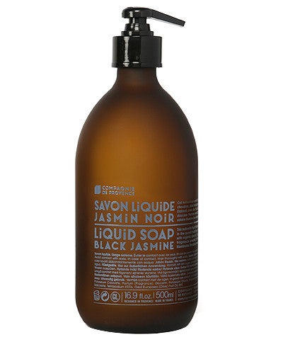 Liquid Marseille Soap 16.9 oz - Black Jasmine