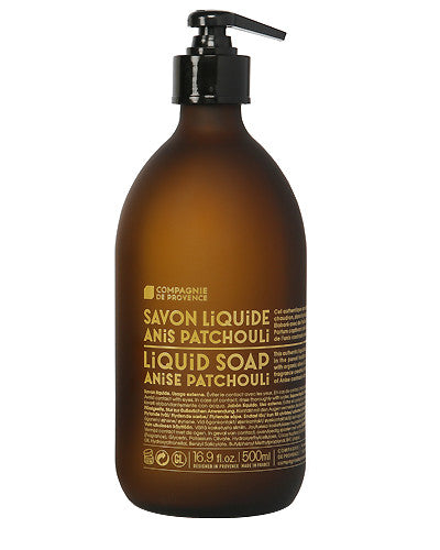 Liquid Marseille Soap 16.9 oz - Anise Patchouli