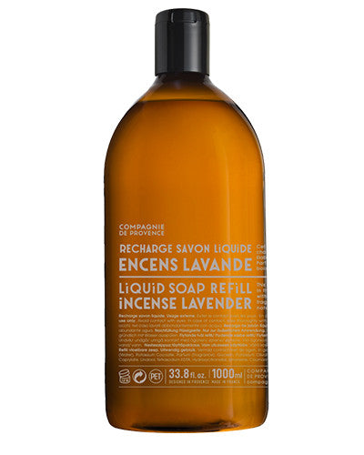 Liquid Marseille Soap 33.8 oz - Incense Lavender
