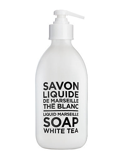 Liquid Marseille Soap 10 oz - White Tea