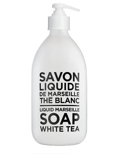 Liquid Marseille Soap 16.9 oz - White Tea