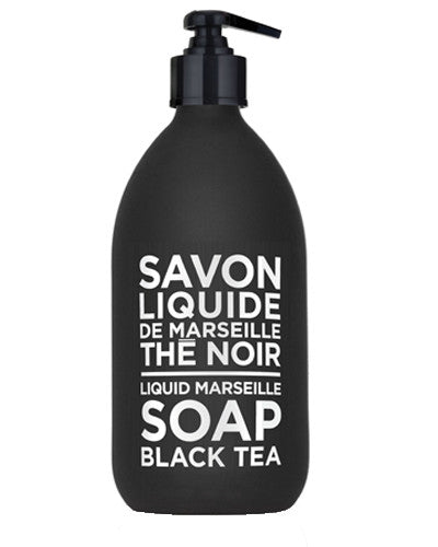 Liquid Marseille Soap 16.9 oz - Black Tea