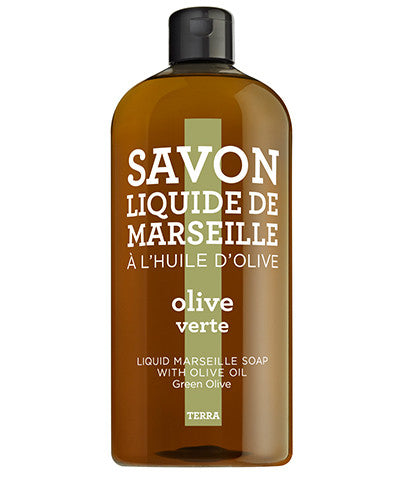 Liquid Marseille Soap 33.8 oz - Green Olive