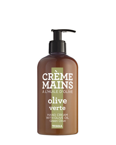 Hand Cream 10 oz - Green Olive