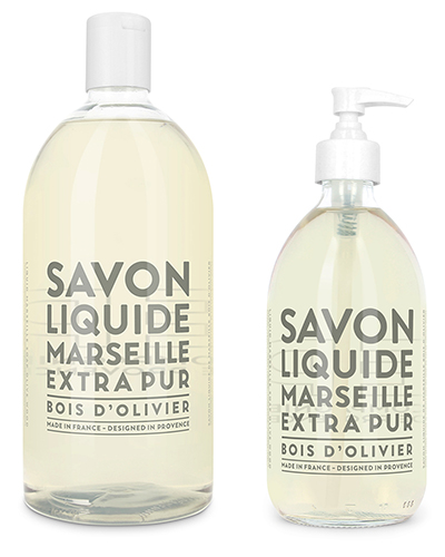 Liquid Marseille Soap Set - Olive Wood