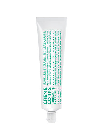 Body Cream 3.4 oz Tube - Mint Tea