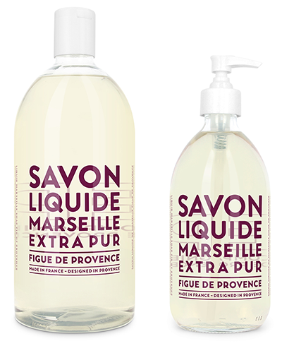 Liquid Marseille Soap Set - Fig of Provence