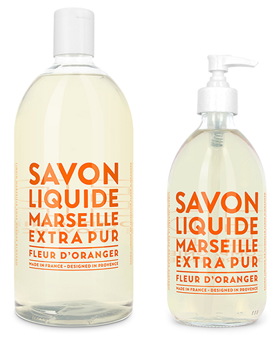 Liquid Marseille Soap Set - Orange Blossom