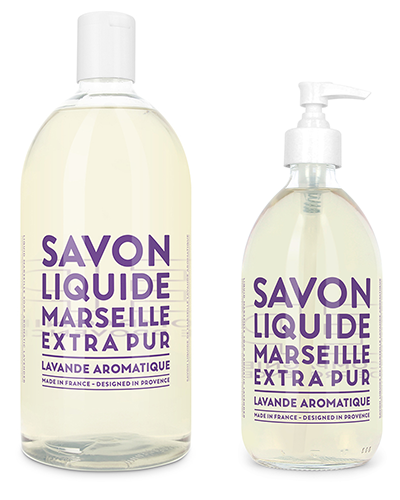 Liquid Marseille Soap Set - Aromatic Lavender