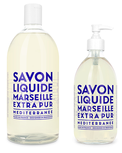 Liquid Marseille Soap Set - Mediterranean Sea