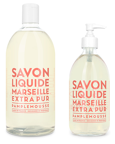 Liquid Marseille Soap Set - Pink Grapefruit