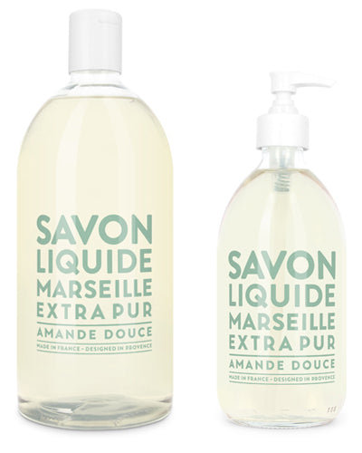 Liquid Marseille Soap Set - Sweet Almond