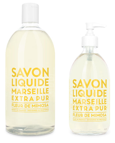 Liquid Marseille Soap Set - Mimosa Flower