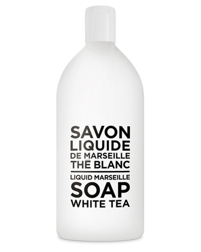 Liquid Marseille Soap 33.8 oz - White Tea