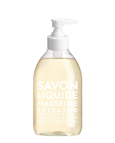 Liquid Marseille Soap 10 oz - Cotton Flower