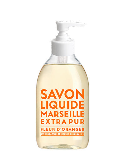 Liquid Marseille Soap 10 oz - Orange Blossom