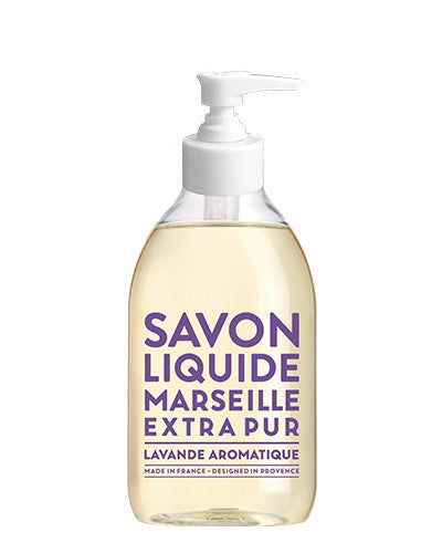 Liquid Marseille Soap 10 oz - Aromatic Lavender