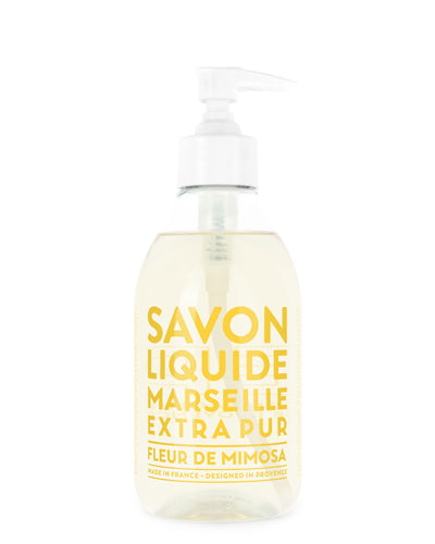 Liquid Marseille Soap 10 oz - Mimosa Flower