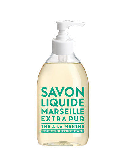 Liquid Marseille Soap 10 oz - Mint Tea