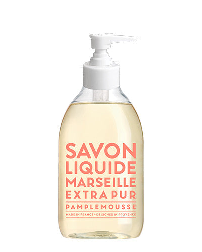 Liquid Marseille Soap 10 oz - Pink Grapefruit