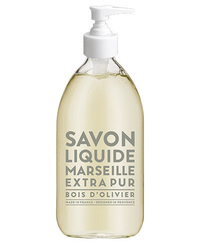 Liquid Marseille Soap 16.9 oz - Olive Wood