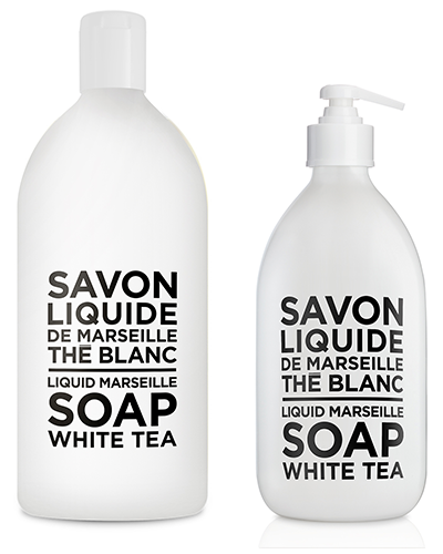 Liquid Marseille Soap Set -  White Tea