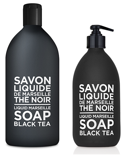 Liquid Marseille Soap Set -  Black Tea