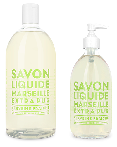 Liquid Marseille Soap Set - Fresh Verbena