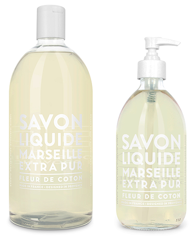 Liquid Marseille Soap Set - Cotton Flower