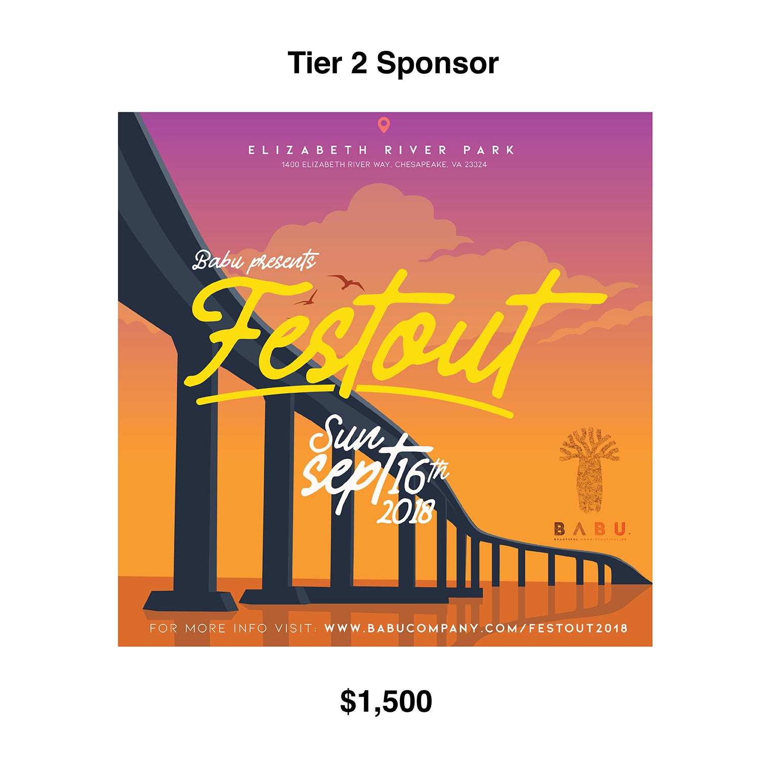 FestOut 2018 : Sponsorship Participation