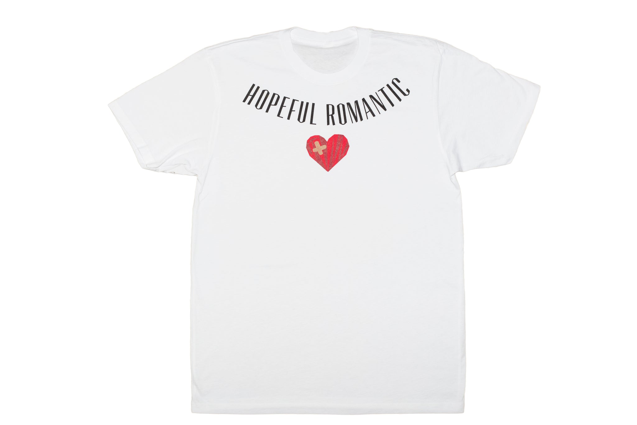 Hopeful Romantic tee - White