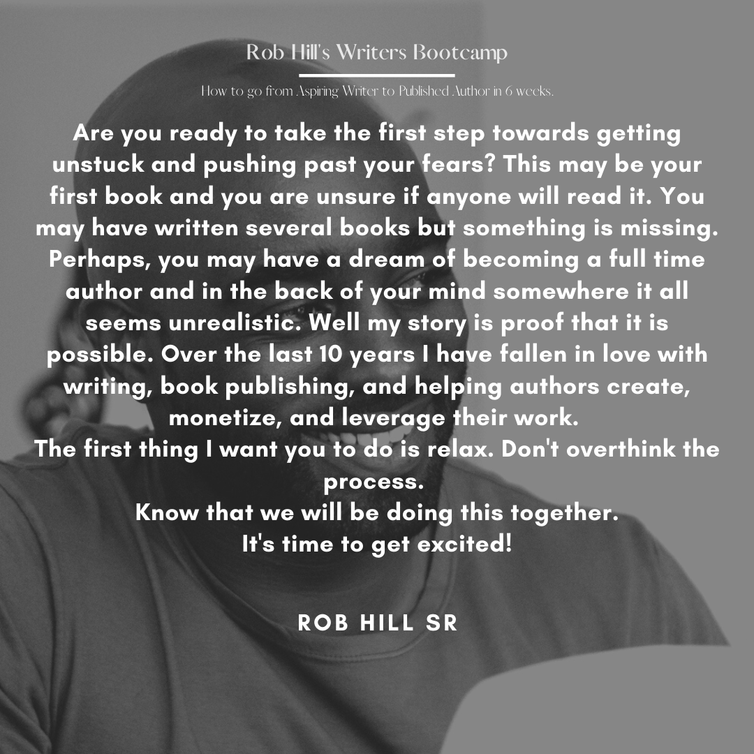 Rob Hill's Writing Bootcamp