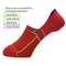 Fit & Healthy Socks | Red - CHERRYSTONE by MARKET TO JAPAN LLC
