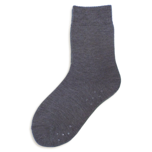 Thermal Slipper Crew with Grips | Classic | Charcoal Grey - CHERRYSTONE by MARKET TO JAPAN LLC