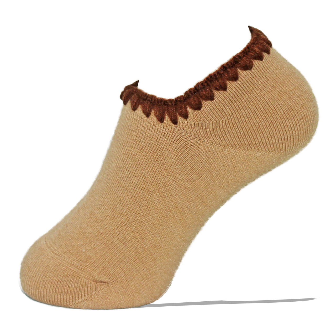 Hamaguri Slipper Socks | Classic Color with Grips | Beige - CHERRYSTONE by MARKET TO JAPAN LLC