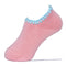 Hamaguri Slipper Socks | Candy Color with Grips | Peach - CHERRYSTONE
