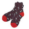 Pack of 6 Cat and Dog Lover's- High Quality Women's Soft Knit Crew Socks - CHERRYSTONE