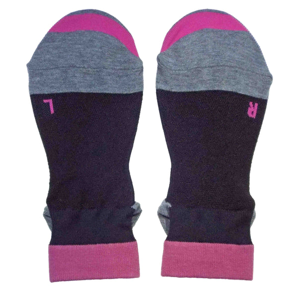 Ankle Running Socks for Women | Navy - CHERRYSTONE