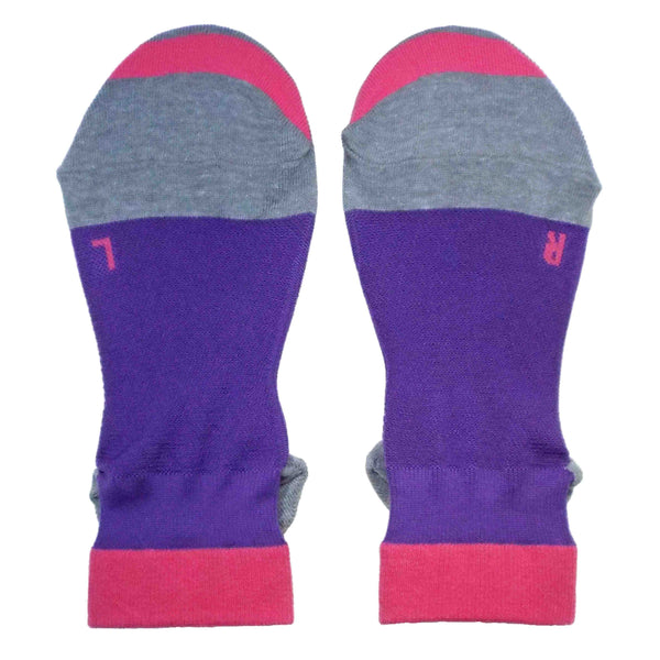 Ankle Running Socks for Women | Purple - CHERRYSTONE