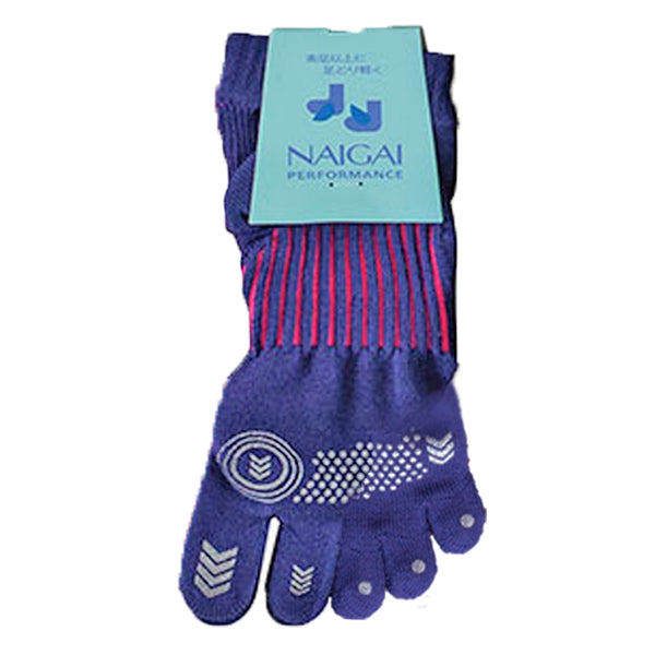 5 Toes Ankle Running Socks for Women | Navy - CHERRYSTONE