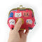 Ball Clasp Coin Purse | Cat Expo | Pink - CHERRYSTONE